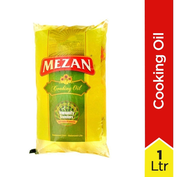 Mezan - Mezan Cooking Oil Pakwan Tail 1Ltr