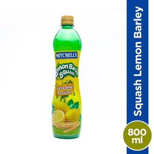 Mitchell's Lemon Barley Squash 800ml
