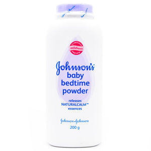 Johnson's Baby Bed Time Powder White 200g (4627727155285)