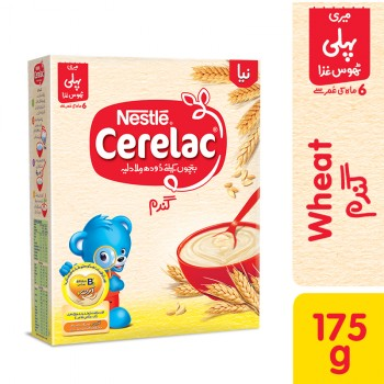 Nestle Cerelac Wheat 175 GM (4735343689813)