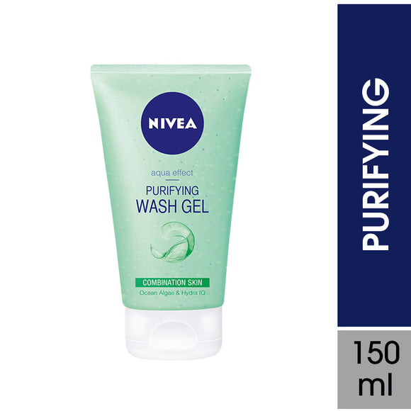 Nivea Face Wash Purifying 150ml (4629485125717)