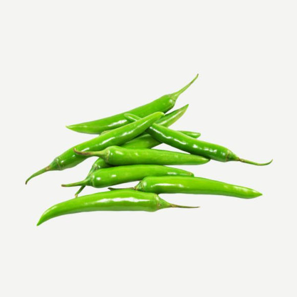Green Thin Chilli (Patli Hari Mirch) half kg