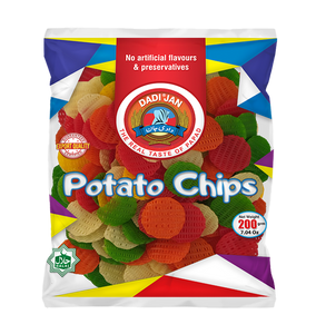 Dadi Jan Potato Chips 200gm (4655444099157)