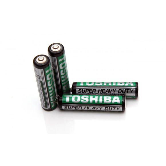 AAA battery Toshiba Pencil cell, Remote cell 1.5V pac
