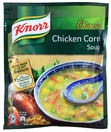 Knorr Chinese Chicken Corn Soup, 46g (4803151167573)