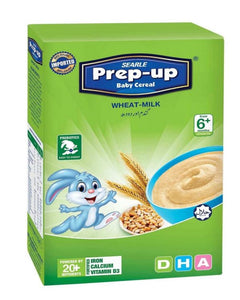 Searle Prep-Up Baby Cereal Wheat & Milk 175gm