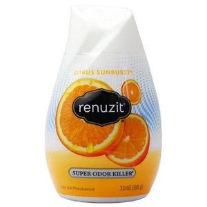 Renuzit Gel Air Freshener, Citrus Sunburst 7 oz (4656576856149)