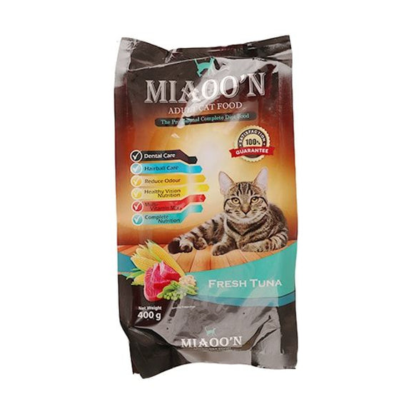MIAOO'N Dry Cat Food Fresh Tuna 400G (4817710383189)