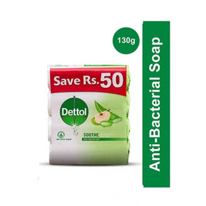 Dettol Soap Soothe – 130gm (Pack of 4)