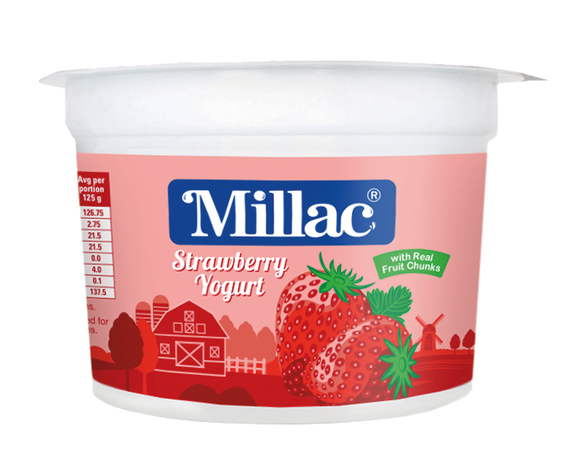 Strawberry Fruit Yogurt Pulpy Goodness Small