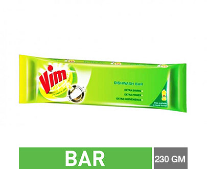 Vim Dishwash Long Bar 230gm (4632339120213)