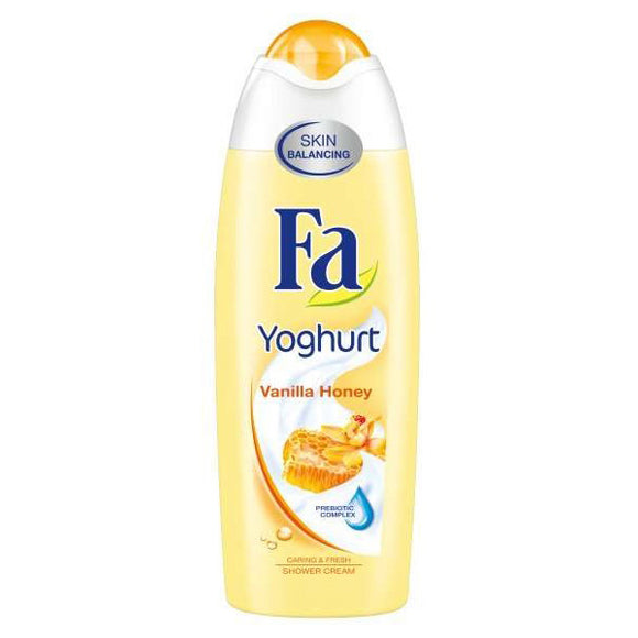 FA VANILA HONEY YOGHURT SHOWER GEL 250ML (4627667386453)