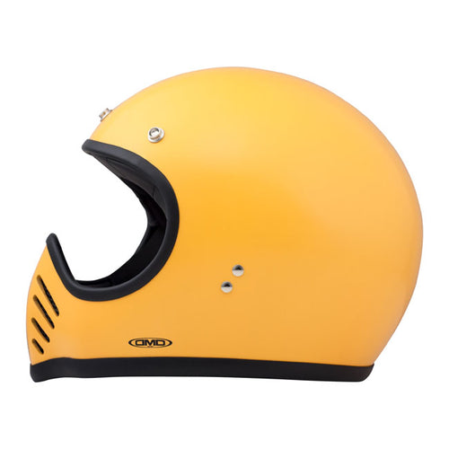 DMD Seventy Five Helmet Yellow