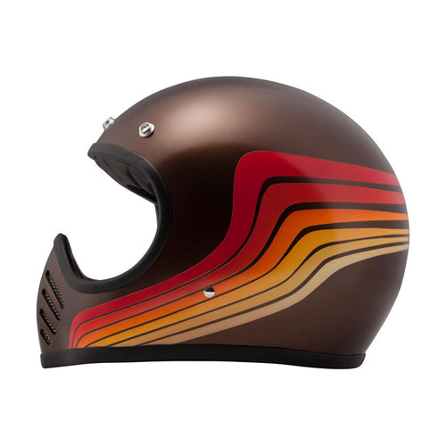 DMD Seventy Five Helmet Brown