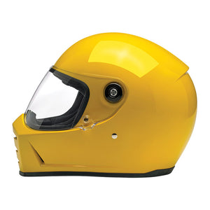 Lane Splitter Helmet Gloss Safe-T Yellow