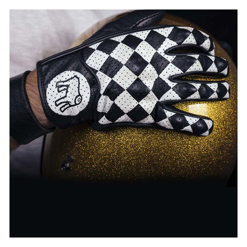 HOLY FREEDOM BULLIT GLOVES BLACK/WHITE