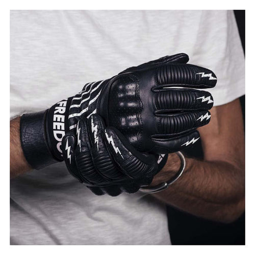 HOLY FREEDOM IPNOTICO GLOVES BLACK/WHITE