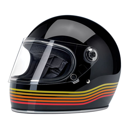 GRINGO S HELMET GLOSS BLACK SPECTRUM