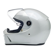 Load image into Gallery viewer, LANE SPLITTER HELMET METALLIC PEARL WHITE