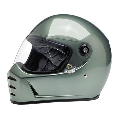 LANE SPLITTER HELMET METALLIC OLIVE