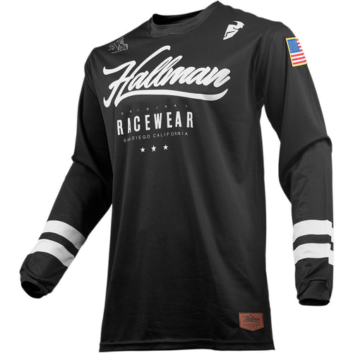 Hallman Hopetown MX Jersey Black