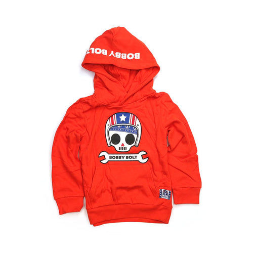 BOBBY BOLT USA HOODIE ORANGE