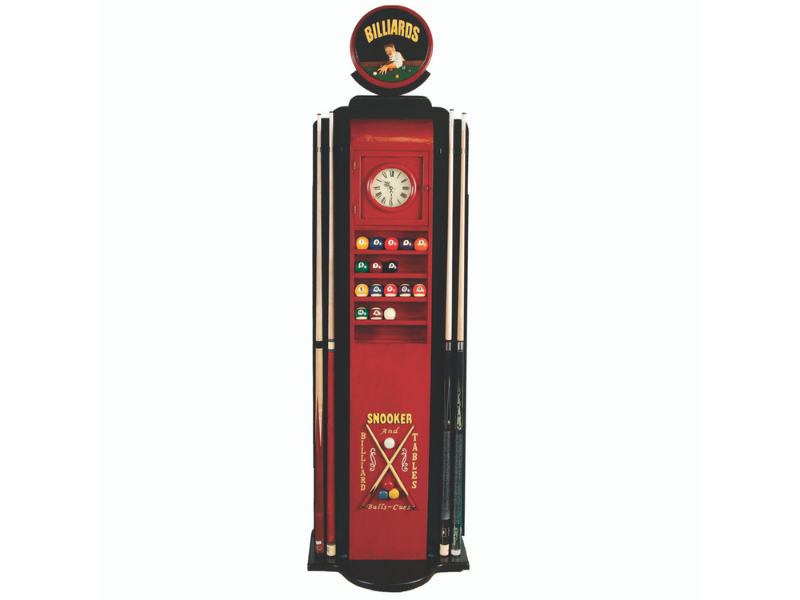 RAM Game Room Billiards Gas Pump Cue Holder
