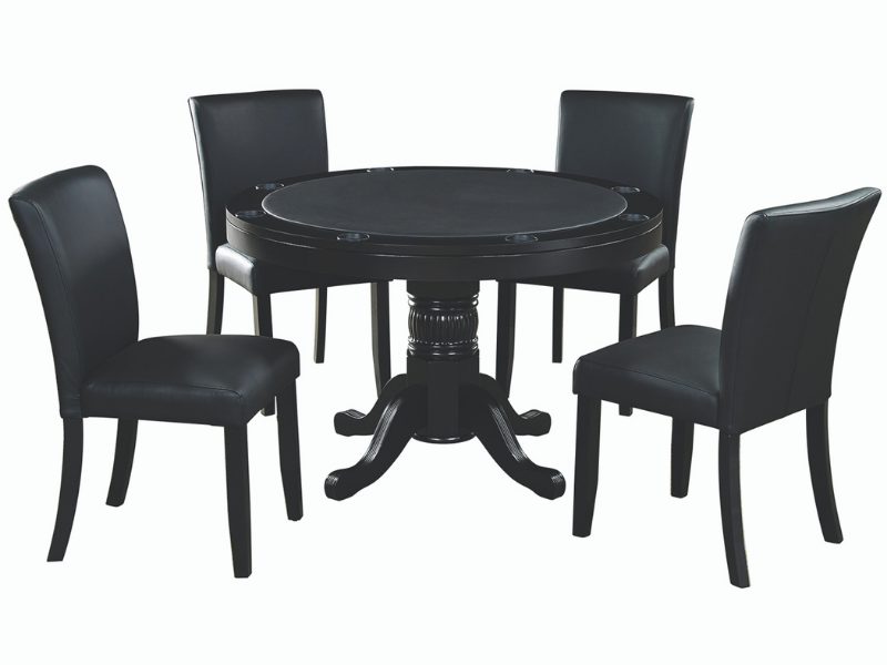 "RAM Game Room 48"" Game Table Set with 4 Dining Chairs"