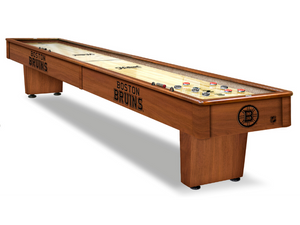 Holland Game Room Boston Bruins 12' Shuffleboard Table