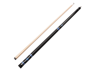 Viper - Sinister Series Cue with Black Faux Leather Wrap