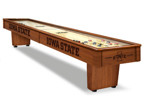 Holland Bar Stool Iowa State 12' Shuffleboard Table