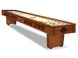 Holland Game Room Boise State 12' Shuffleboard Table