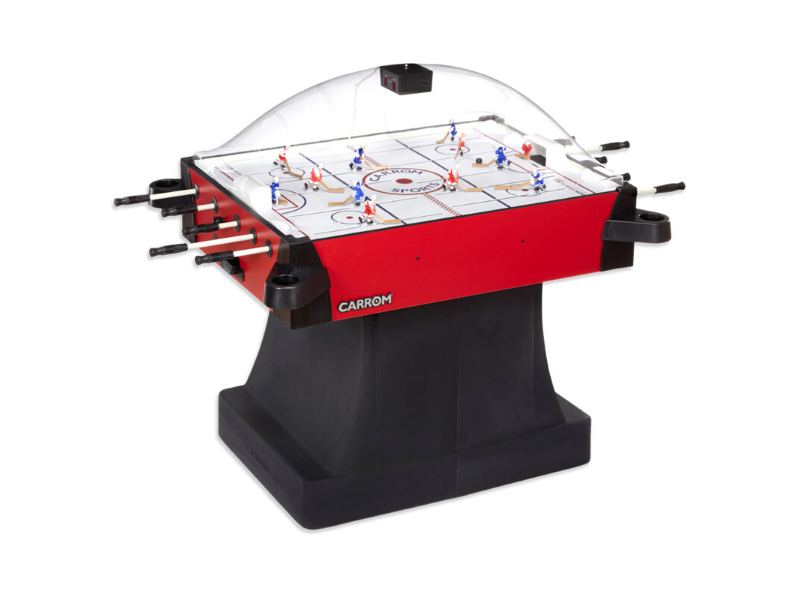 Carrom Signature Stick Hockey Table with Pedestal