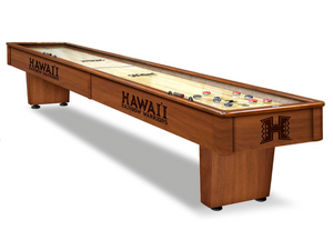 Holland Bar Stool University of Hawaii 12' Shuffleboard Table