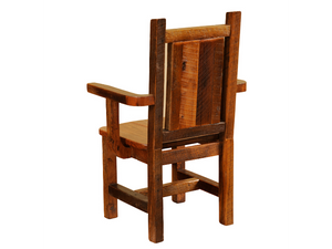 Fireside Lodge Barnwood Artisan Arm Chair