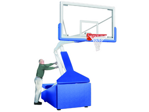 First Team Hurricane Portable Basketball Goal