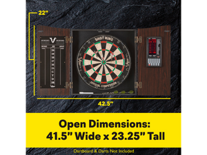 Viper - Vault Deluxe Dartboard Cabinet with Pro Score