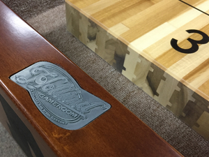 Holland Game Room Bemidji State 12' Shuffleboard Table