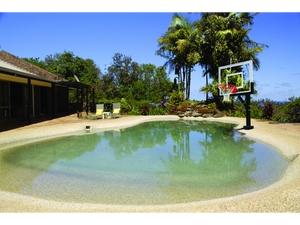 First Team HydroSport Poolside Basketball Goal