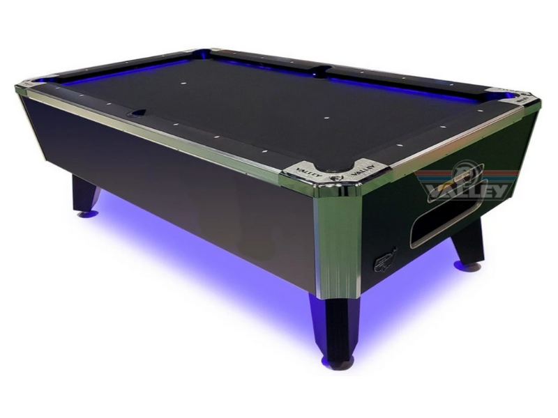 Valley Panther LED 7' Pool Table HEBBK