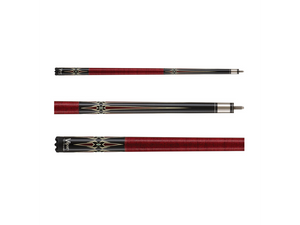 Viper - Sinister Series Cue with Red Diamonds