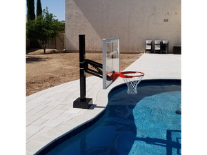 First Team HydroChamp Poolside Basketball Goal