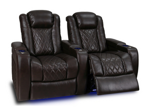 Valencia Tuscany Dark Chocolate Home Theater Seating