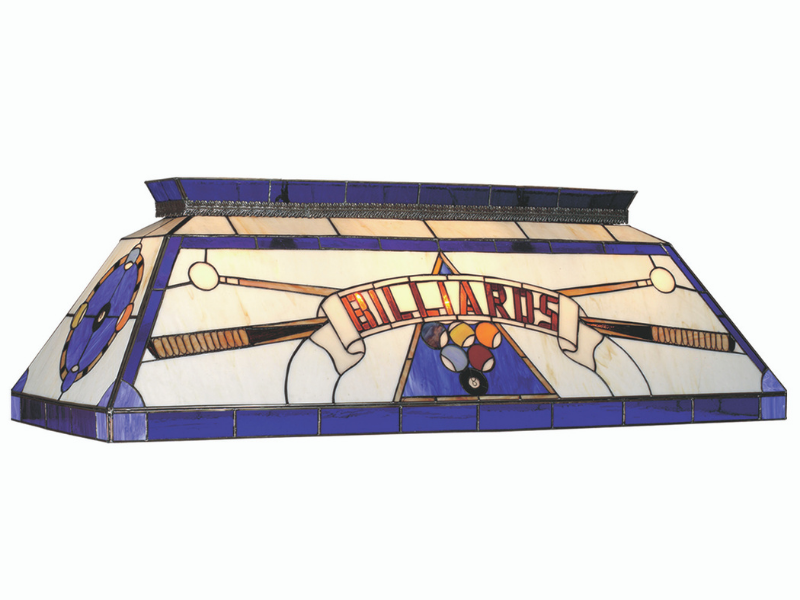 "RAM Game Room 44"" Tiffany Billiard Light"
