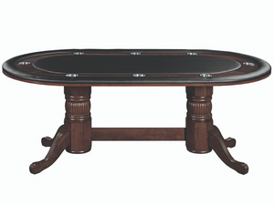 "RAM Game Room 84"" Texas Hold'em Game Table With Dining Top"