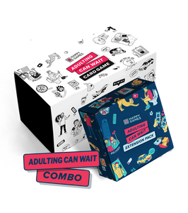 Adulting Can Wait Combo (Original + Uncensored Extension Pack)
