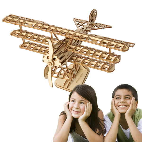 3D Puzzle Collection: VINTAGE AIRPLANE