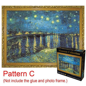 Deluxe Collection: MUSEUM PAINTINGS (3000 Piece)