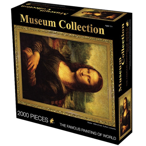 Deluxe Collection: MUSEUM PAINTINGS (2000 Piece)