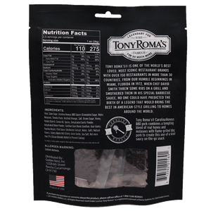 Tony Roma's Carolina Honeys BBQ Pork Nutrition